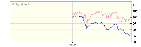 6 Month Invesco Global Financial Capital Y GBP Dis NAV